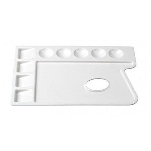 Купить Палитра Малевичъ пластиковая прямоугольная, 9 ячеек 30х22, Инструменты для рисования