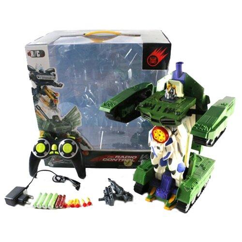 цена на Робот-трансформер Shantou Gepai Робот-машина W298-19 бело-зеленый
