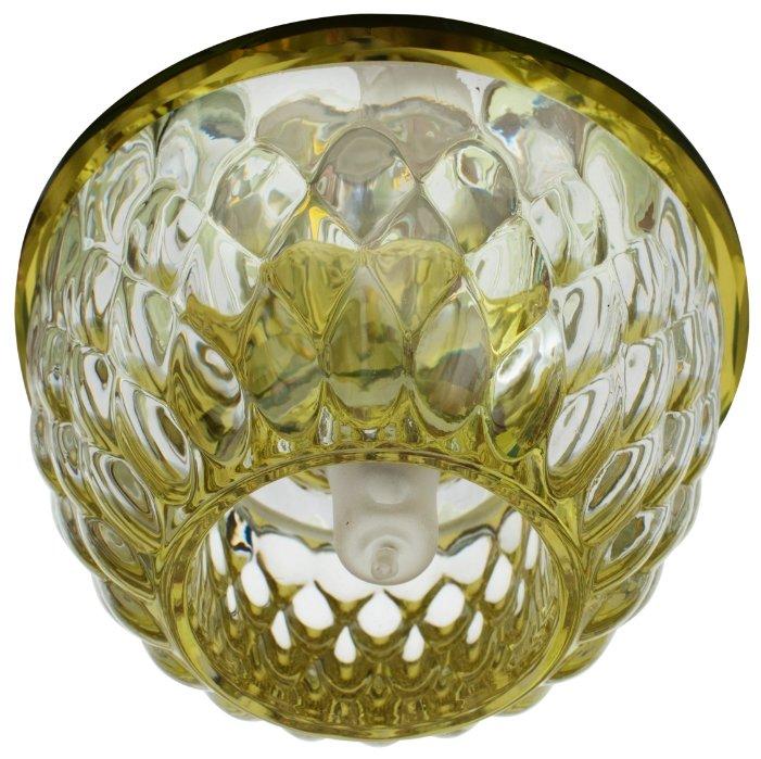 Встраиваемый светильник De Fran FT 9281 YL, зеркальный / золотой