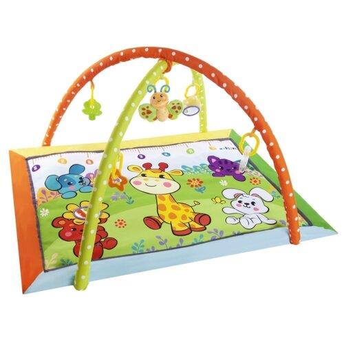 Развивающий коврик Жирафики Жирафик и друзья (939484) жирафики игровой центр подушка жирафики жирафик и друзья