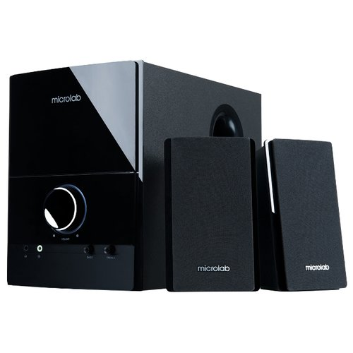 цена на Компьютерная акустика Microlab M-500 черный