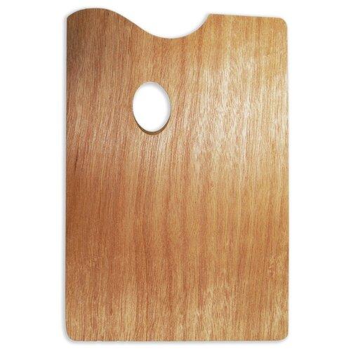 Палитра Малевичъ деревянная прямоугольная 20х30Инструменты для рисования<br>