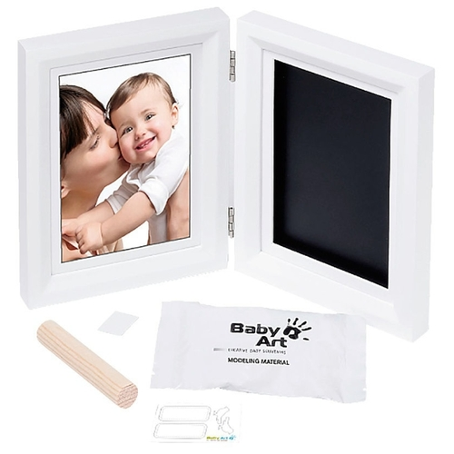 Baby Art Creative baby souvenirs - Print frame white and black (34120184)