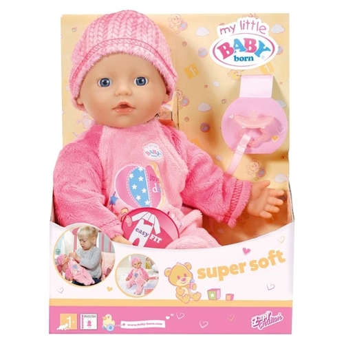 Кукла Zapf Creation Baby Born С соской 32 см 822-524