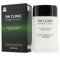 3W Clinic Лосьон увлажняющий Homme Classic Moisturizing Freshness Essential Lotion