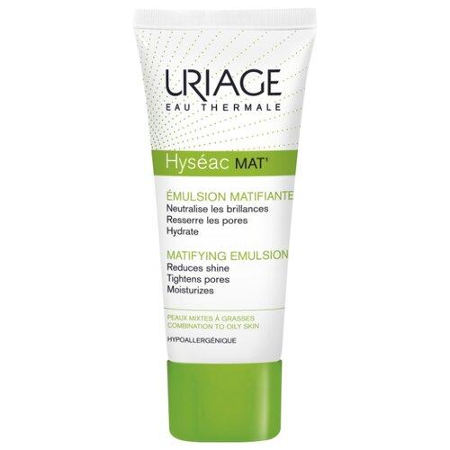 Uriage Hyseac Mat Эмульсия для лица матирующий уход для комбинированной и жирной кожи, 40 мл исеак эмульсия к18 40 мл uriage hyseac