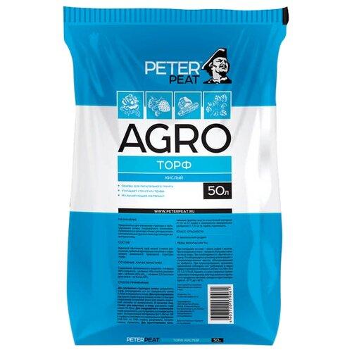 Торф верховой PETER PEAT Линия Agro кислый 50 л.