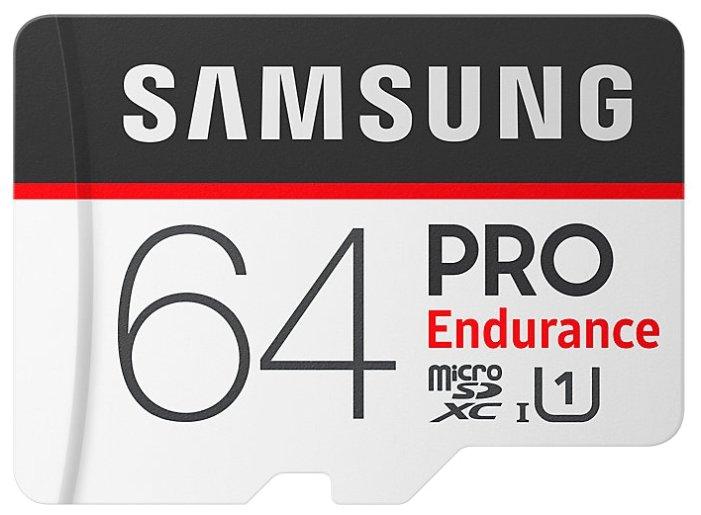 Карта памяти Samsung microSDXC PRO Endurance UHS-I U1 100MB/s + SD adapter