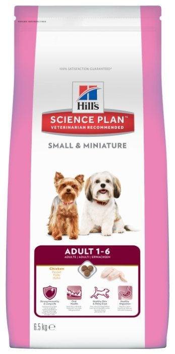 Корм для собак Hill's Science Plan Canine Adult Small & Miniature with Chicken