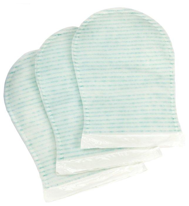 Рукавица для мытья CV Medica пенообразующая DISPOBANO Glove (с ПЭ-ламинацией) 25x17 см