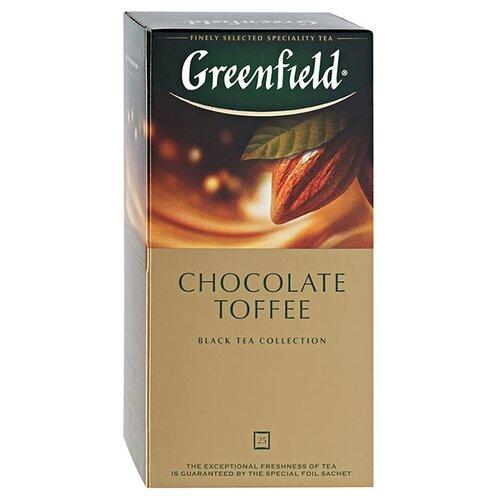 Чай черный Greenfield Chocolate Toffee в пакетиках, 25 шт.Чай<br>