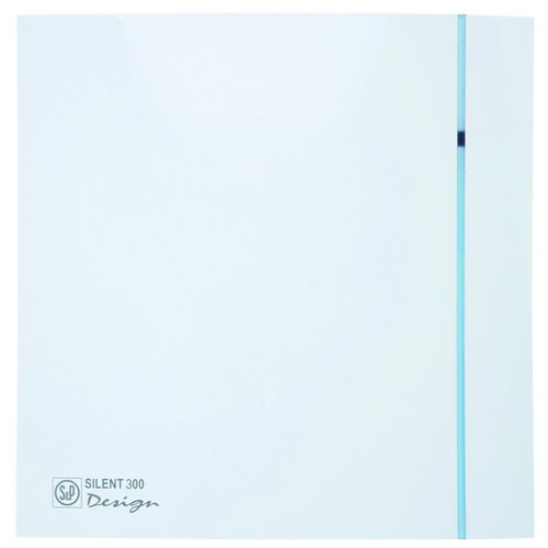 Вытяжной вентилятор Soler & Palau SILENT-300 CZ PLUS DESIGN 3C, white 22 Вт