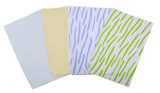 Многоразовые пеленки Babyglory интерлок 90х120 набор 4 шт.