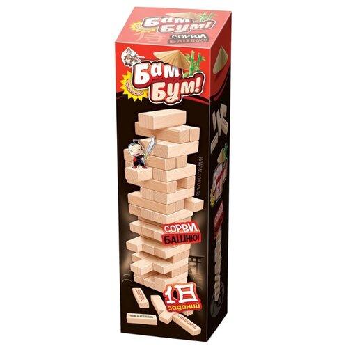 Купить Настольная игра Десятое королевство Падающая башня с фантами Бам-бум 01741, Настольные игры