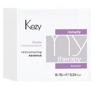 KEZY Mytherapy Флюид для волос реструктурирующий с кератином