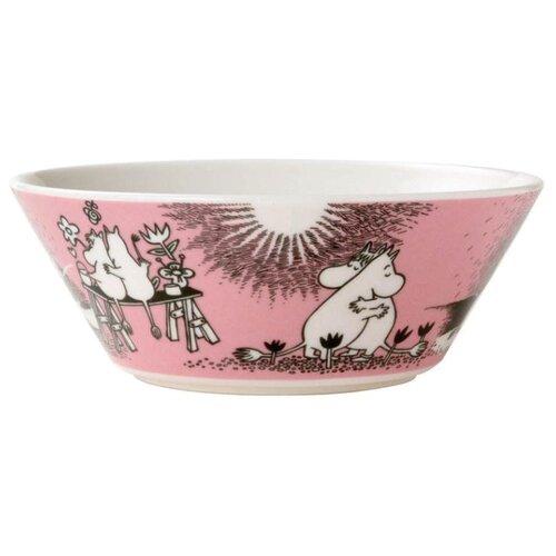 Moomin Пиала Любовь 15 см розовый пиала lefard 12 5 см бежевый розовый с розами