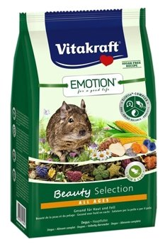 Корм для дегу Vitakraft Emotion Beauty Selection All Ages