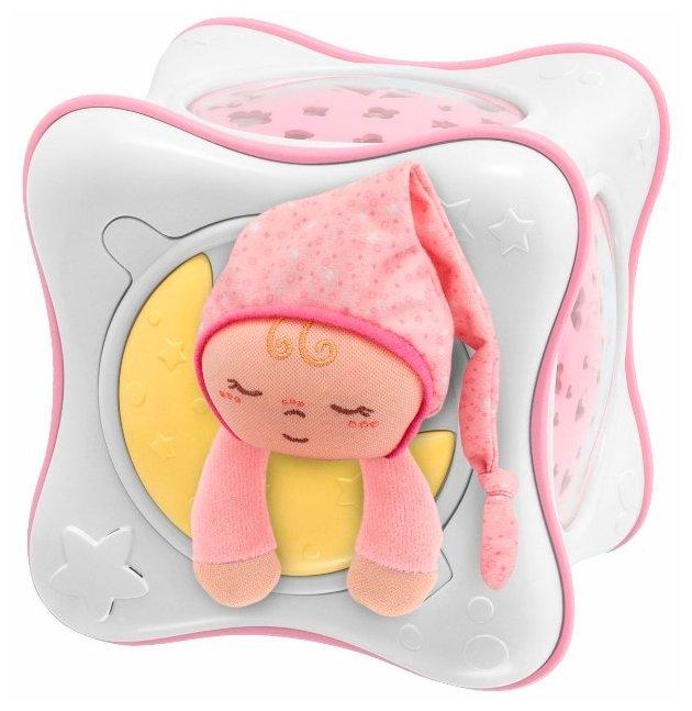 Ночник-проектор Chicco Радуга (розовый)