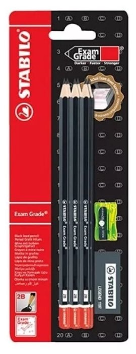 STABILO Набор Exam Grade (288/6-B)