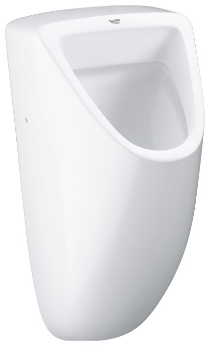 Писсуар подвесной Grohe Bau Ceramic 39438000 с горизонтальным выпуском