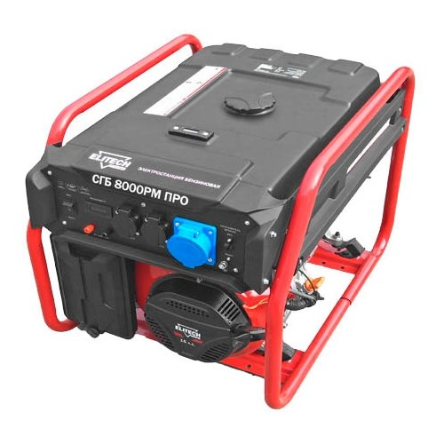 Бензиновый генератор ELITECH СГБ 8000РМ ПРО (6000 Вт) бензиновый генератор elitech сгб 8000ем про 6000 вт