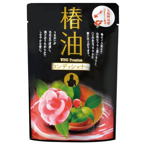Фото - Nihon Sekken кондиционер WINS Premium camellia oil, 400 мл кондиционер для белья nihon softener premium rose 500 мл