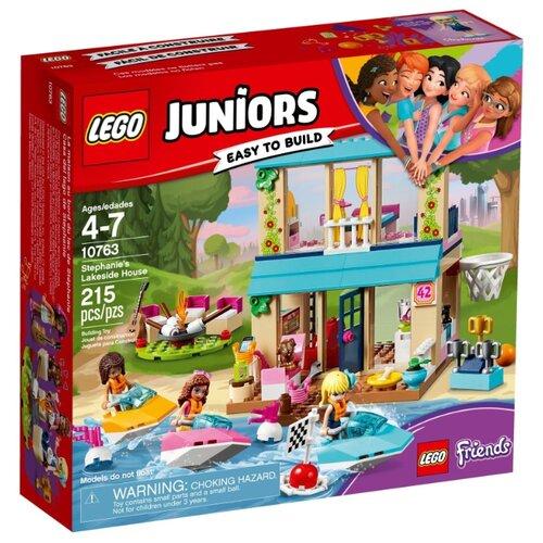 Конструктор LEGO Juniors 10763 Домик Стефани у Озера