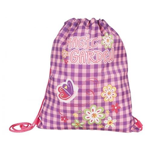 Target Сумка для детской сменной обуви Волшебный сад (17932) фиолетовый/розовыйМешки для обуви и формы<br>