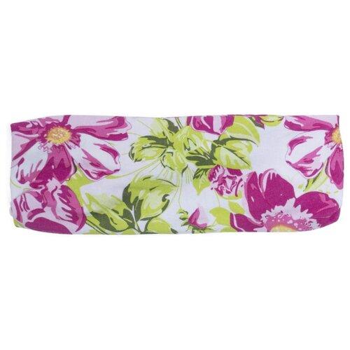 Купить Бандана playToday размер 40-44, белый/розовый/светло-розовый/зеленый/светло-зеленый, Головные уборы