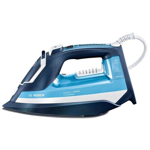 Утюг Bosch TDA 753022V синий/голубой/белый