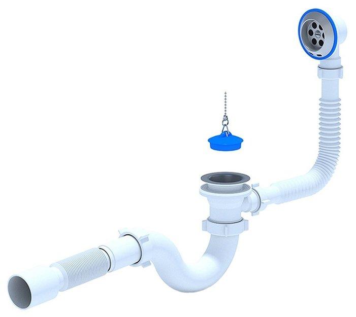 Сифон для ванны АНИ Пласт E155