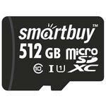 Карта памяти SmartBuy microSDXC Class 10 UHS-I U1 + SD adapter