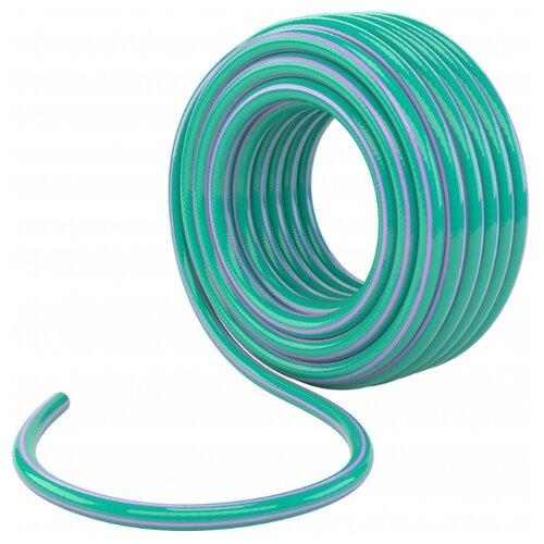 Шланг PALISAD поливочный армированный 3-х слойный 3/4 15 метров (67650) голубой/фиолетовый шланг palisad поливочный армированный 3 х слойный 3 4 25 метров 67645 зеленый голубой