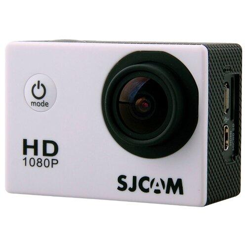 Фото - Экшн-камера SJCAM SJ4000 белый экшн камера sjcam sj4000 wi fi yellow