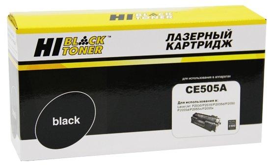 Картридж Hi-Black CE505A, совместимый — купить по выгодной цене на Яндекс.Маркете