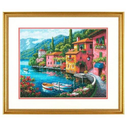Купить Dimensions Набор для вышивания крестиком Lakeside Village 38 x 30 см (70-35285), Наборы для вышивания