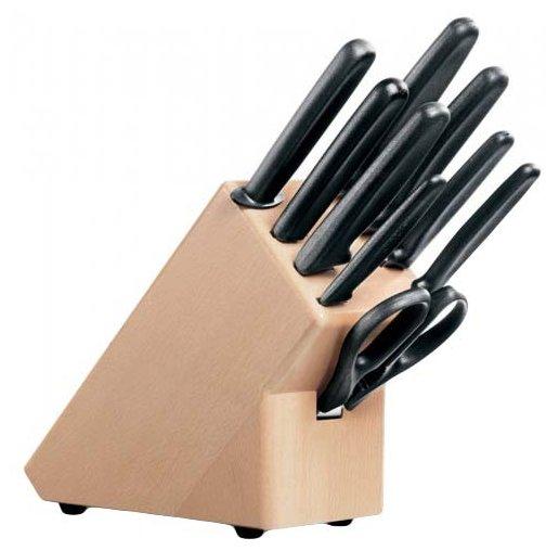 Набор ножей кухон. Victorinox Standart (5.1193.9) черный подар.коробка