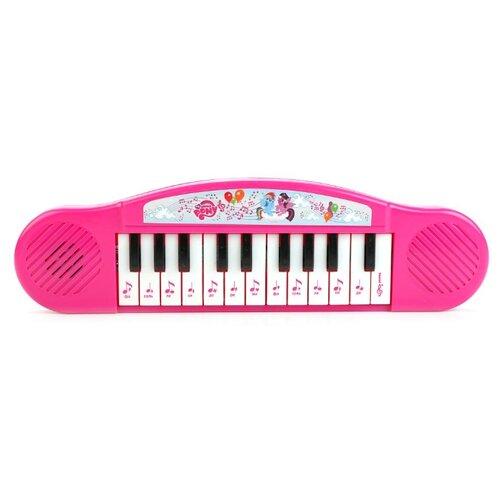 Умка пианино My Little Pony B1371790-R2 розовый микрофон умка 10 песен из м ф my little pony 260296 розовый