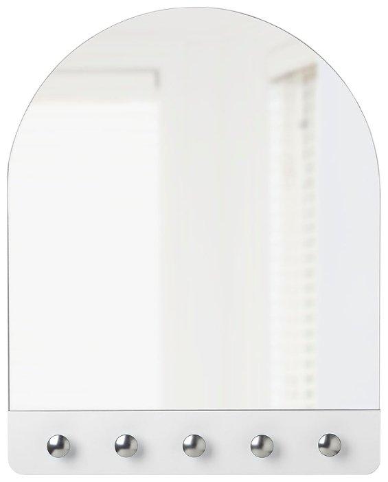 Зеркало Umbra Peek 40.6х50.8 белое в раме