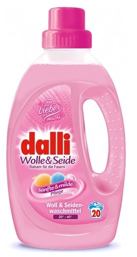 Гель для стирки Dalli Wolle & Seide