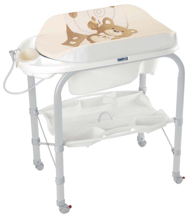 Пеленальный столик CAM Cambio с ванночкой 240