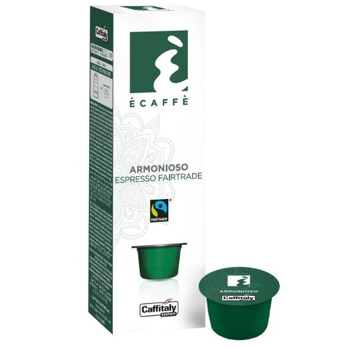 Кофе в капсулах Caffitaly Ecaffe Armoniozo (10 капс.)Капсулы для кофемашин<br>