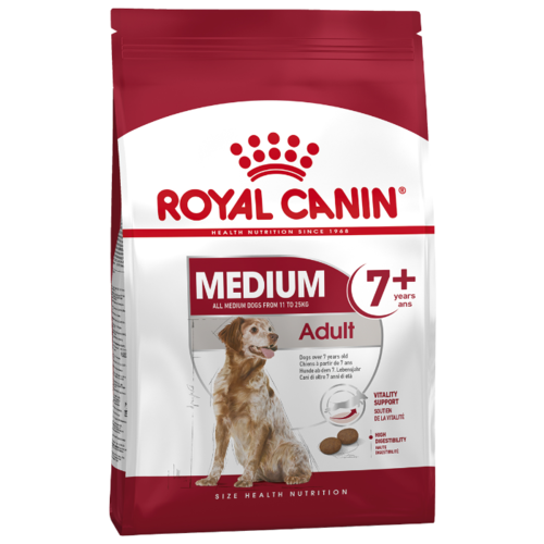 Корм для собак Royal Canin (4 кг) Medium Adult 7+