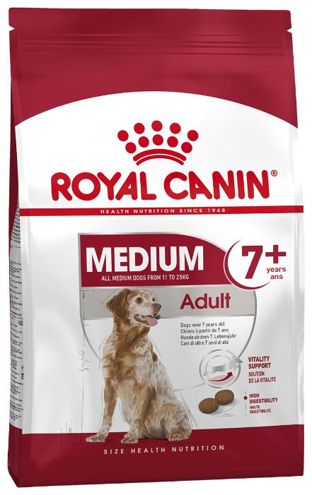 Корм для пожилых собак Royal Canin для здоровья кожи и шерсти 15 кг (для средних пород) — купить по выгодной цене на Яндекс.Маркете