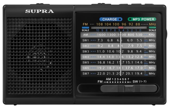 Радиоприемник SUPRA ST-21UR