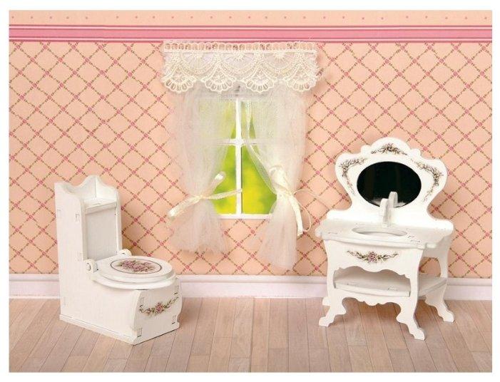 Игровой набор ЯиГрушка Прованс Туалетная комната 59407