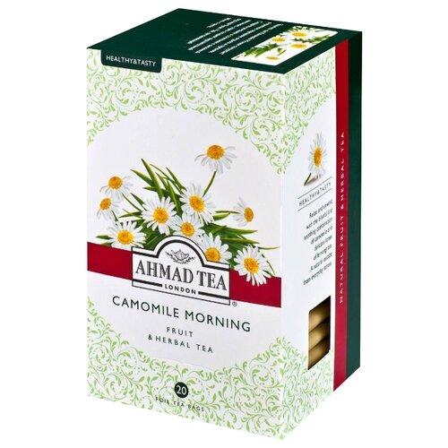 Чай травяной Ahmad tea Healthy&Tasty Camomile morning в пакетиках, 20 шт.