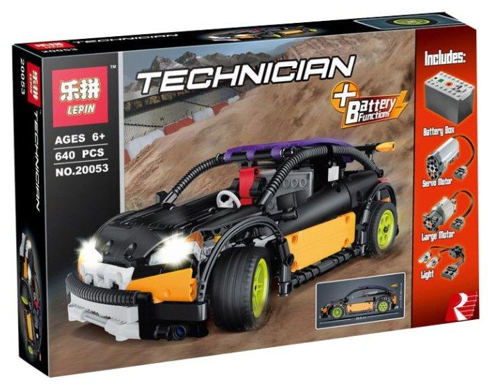 Электромеханический конструктор Lepin (King, Queen) Technican 20053 MOC-6604