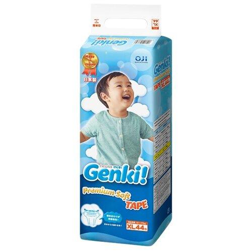 Genki подгузники Premium Soft XL (12-17 кг) 44 шт.Подгузники<br>