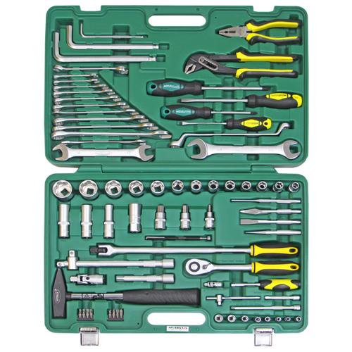 Набор автомобильных инструментов Арсенал (76 предм.) C1412P76 набор инструментов арсенал 3 4 8144660 23 предмета